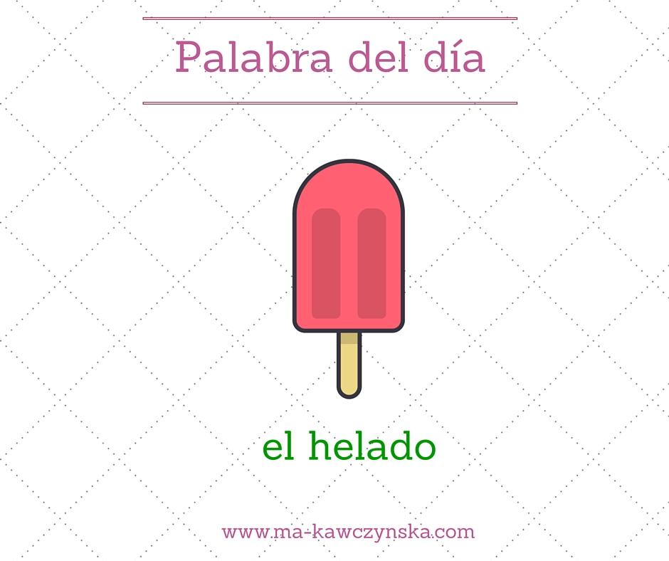 el helado