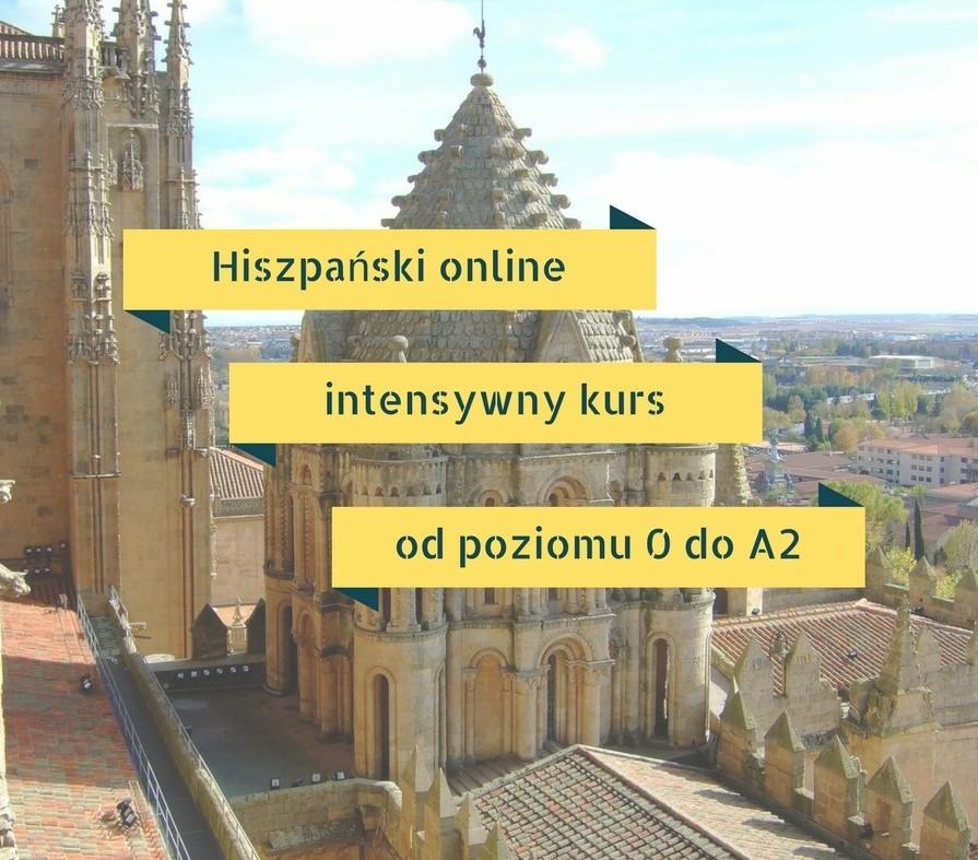 Hiszpański online od ZERA do poziomu A2