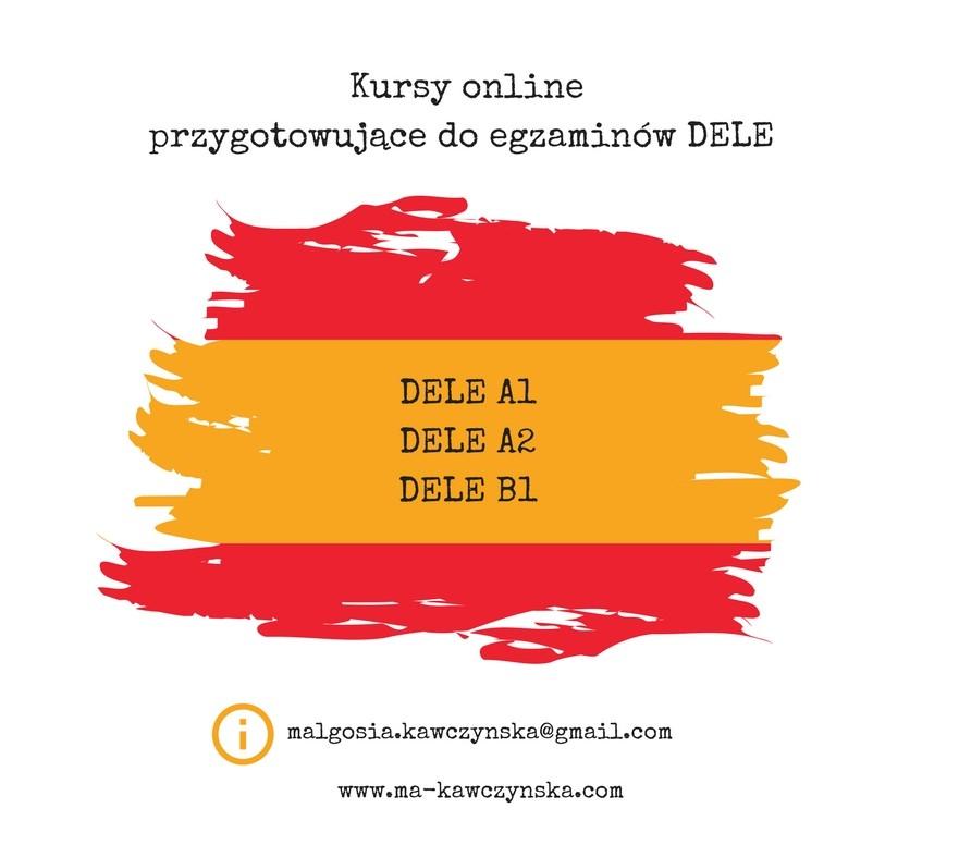 Kursy online przygotowujące do egzaminów DELE