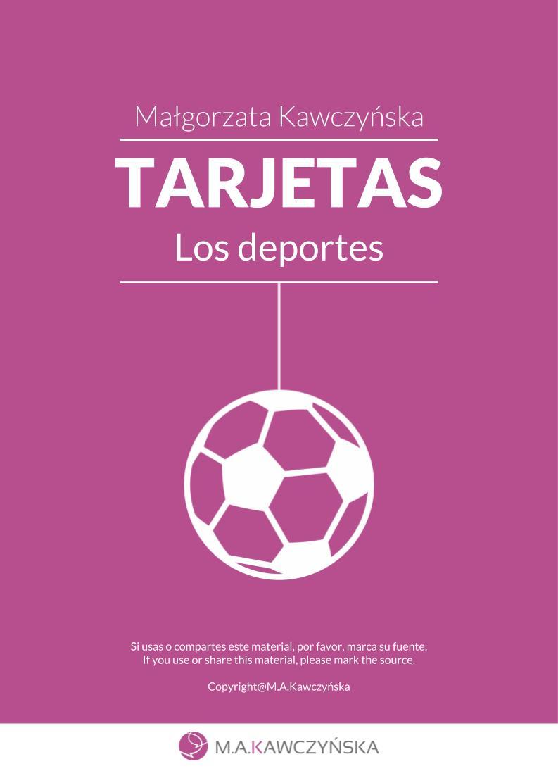 TARJETAS Los deportes