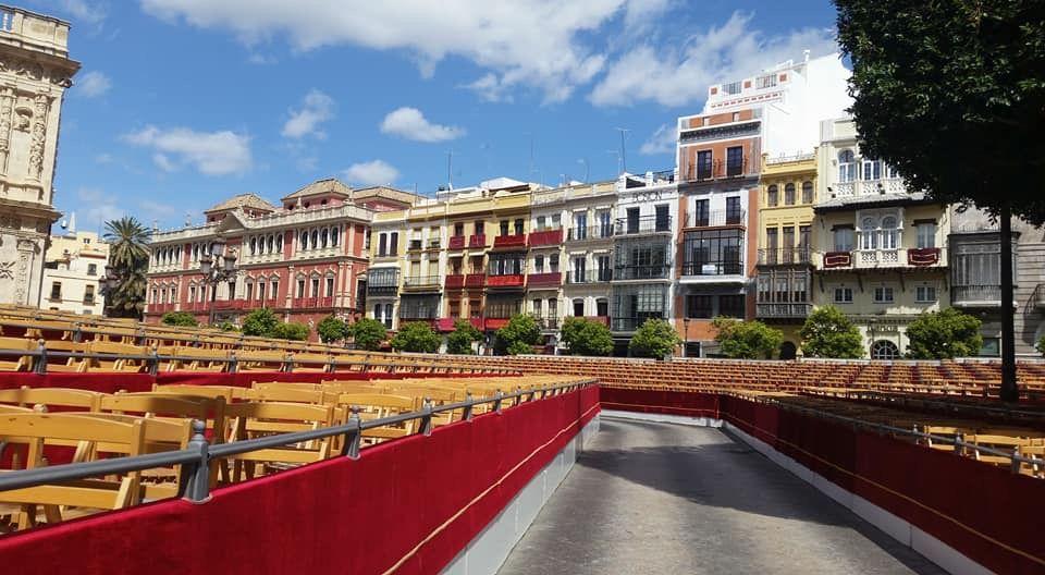 Przygotowania do Semana Santa, Sevilla