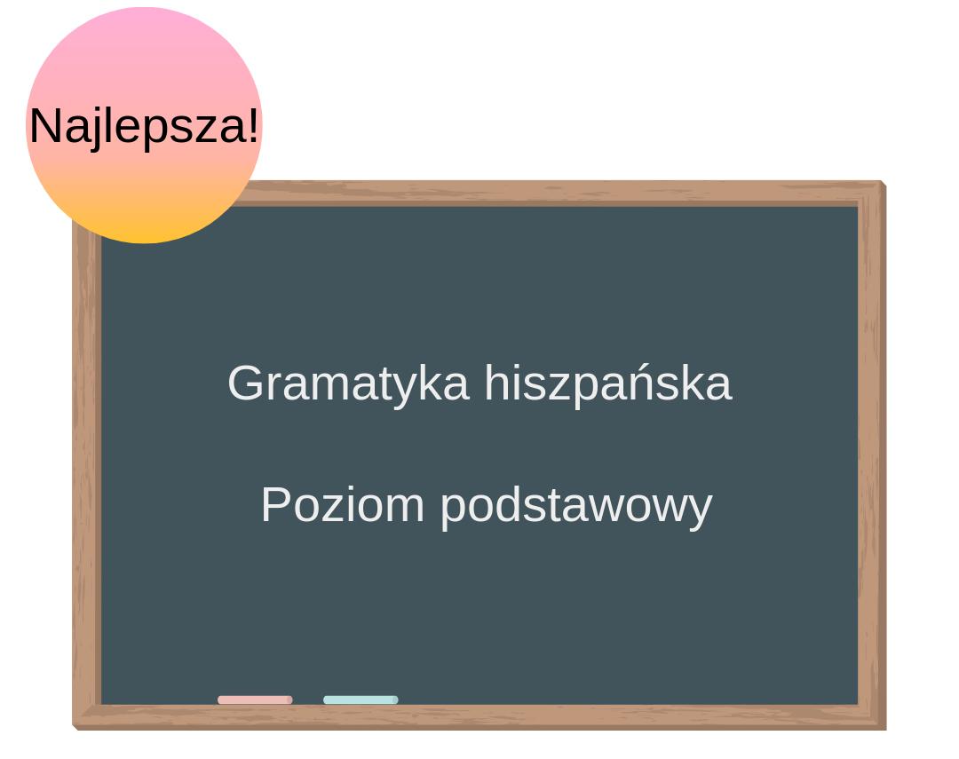 Kurs online. Gramatyka hiszpańska. Poziom podstawowy.