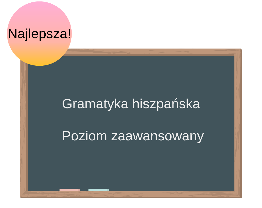 Kurs online. Gramatyka hiszpańska. Poziom zaawansowany.